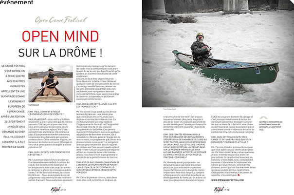 Canoe Kayak Magazine / France.