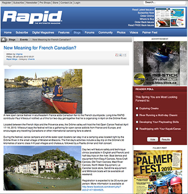 Rapid Mag website / Canada.