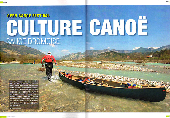 Canoe Kayak Magazine, France.