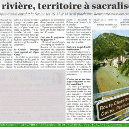 Journal Le Crestois, France.