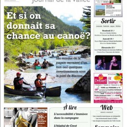 Journal le Crestois. Mars 2014.