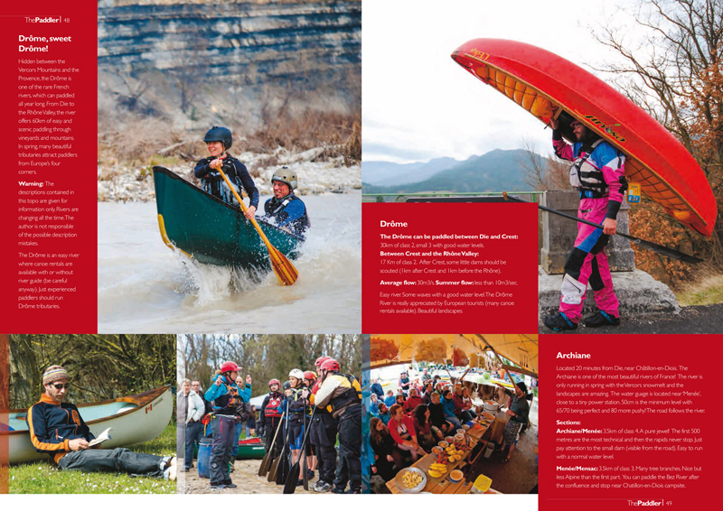 The Paddler Magazine, UK. Feb. 2014.