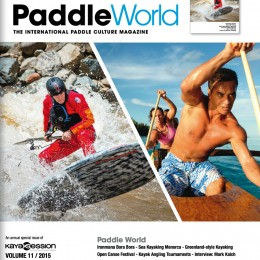Paddle World Magazine, 2015.
