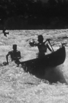 Brief history of canoe camping in France.